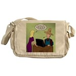 Social Media Farm Games Messenger Bag