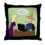 Social Media Farm Games Throw Pillow