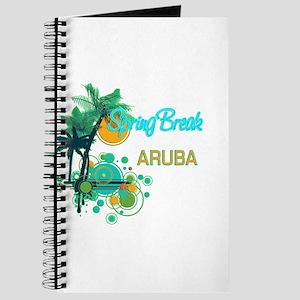Palm Trees Circles Spring Break ARUBA Journal