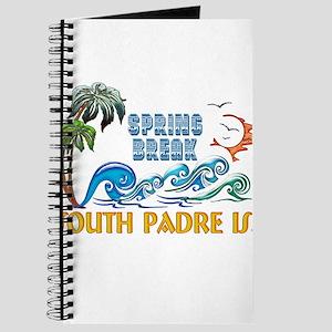 3D Palms Waves Sunset Spring Break S PADRE Journal