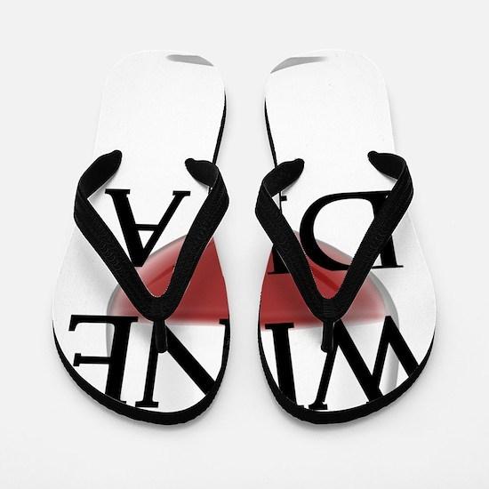 Wine Diva Flip Flops