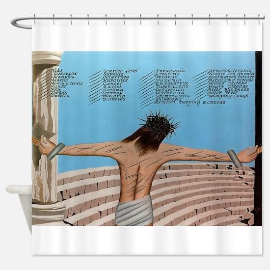 39 Stripes Shower Curtain