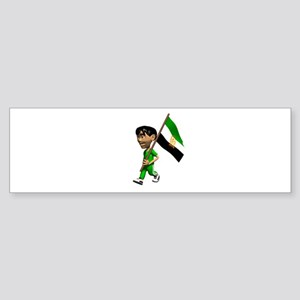 Afghanistan Boy Bumper Sticker
