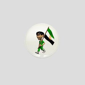 Afghanistan Boy Mini Button