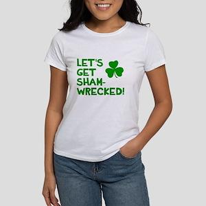 Let's get sham-wrecked! Women's T-Shirt