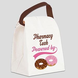 Pharmacy Tech Doughnuts Canvas Lunch Bag