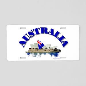 sydney-opera-house Aluminum License Plate