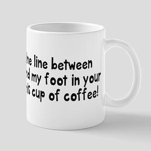 Fine line between Mug