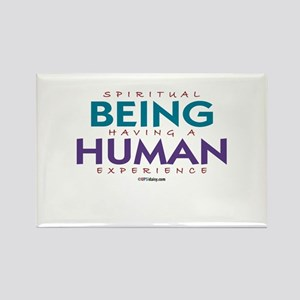 Being Human Rectangle Magnet