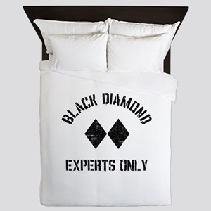 Black diamond Queen Duvet