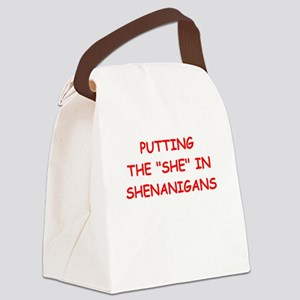 she Canvas Lunch Bag