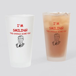 smiling Drinking Glass