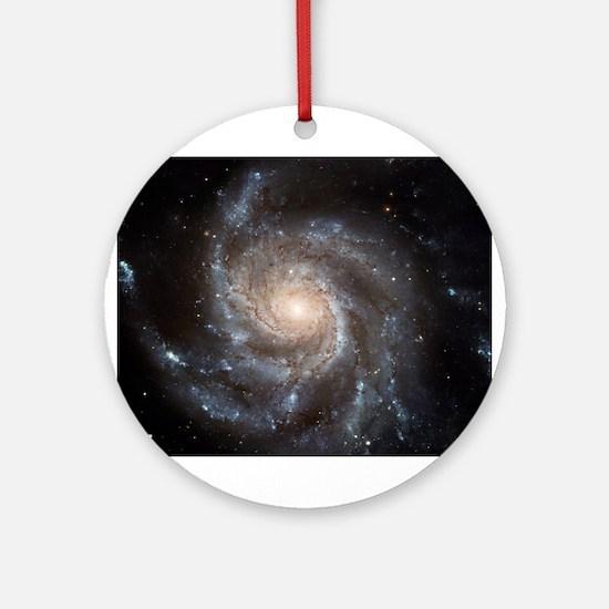 Spiral Galaxy M101 Ornament (round)
