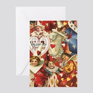 Valentine Jesters Greeting Card