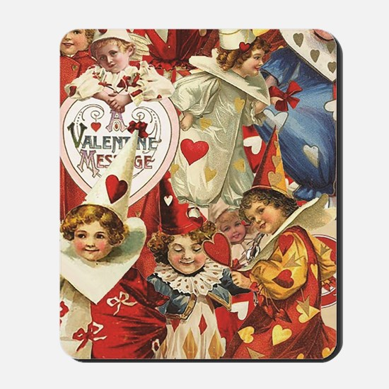 Valentine Jesters Mousepad