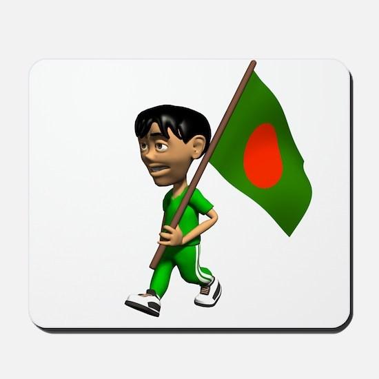 Bangladesh Boy Mousepad