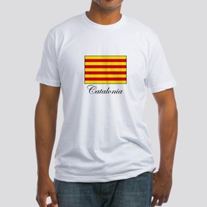 Catalonia - Flag Fitted T-Shirt