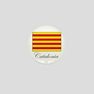 Catalonia - Flag Mini Button