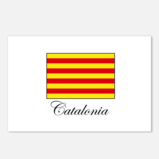 Catalonia - Flag Postcards (Package of 8)