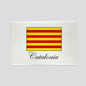 Catalonia - Flag Rectangle Magnet