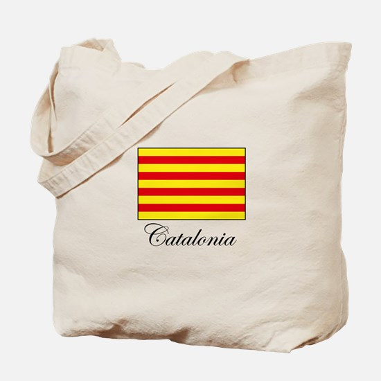 Catalonia - Flag Tote Bag