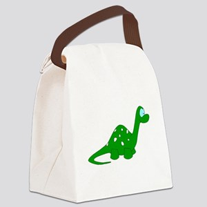 Baby Dinosaur Canvas Lunch Bag
