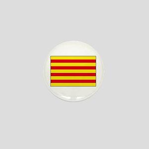 Catalonia Flag Mini Button