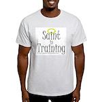 Saint in Training Ash Grey T-Shirt