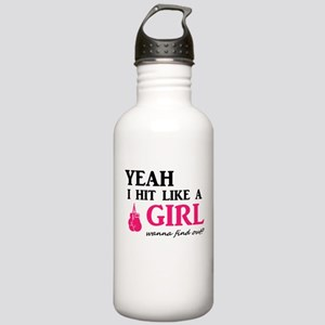 Hit Like A Girl Stainless Water Bottle 1.0L