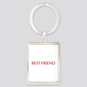 Best friend-Opt red Keychains