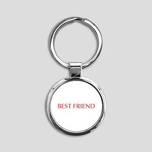 Best friend-Opt red Keychains