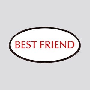 Best friend-Opt red Patches