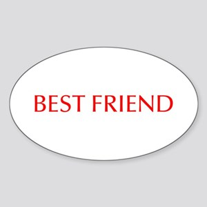 Best friend-Opt red Sticker