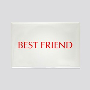 Best friend-Opt red Magnets