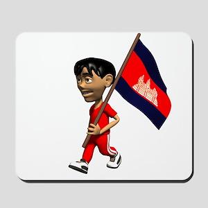 Cambodia Boy Mousepad