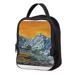 Mountain Sunset Neoprene Lunch Bag