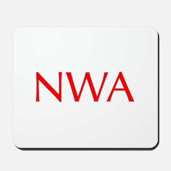 NWA-Opt red Mousepad
