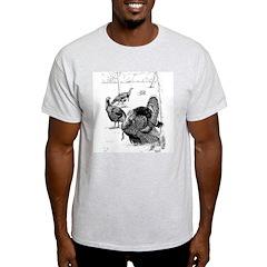 Turkeys Ash Grey T-Shirt