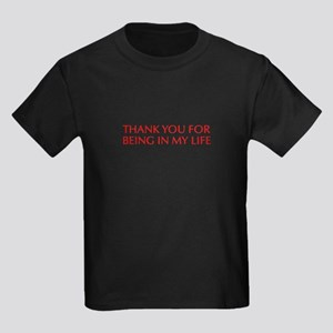 Thank you for being in my life-Opt red T-Shirt