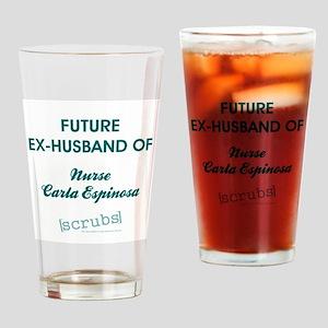 FUTURE EX-HUSBAND Drinking Glass