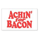 Achin for Bacon Sticker