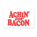 Achin for Bacon Wall Decal