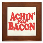 Achin for Bacon Framed Tile