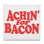 Achin for Bacon Tile Coaster