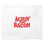 Achin for Bacon King Duvet