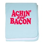 Achin for Bacon baby blanket
