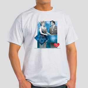 I Love Lucy Chores Light T-Shirt