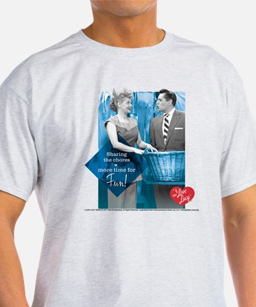 I Love Lucy Chores T-Shirt