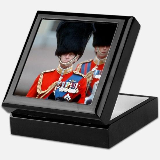 HRH Duke of Edinburgh Keepsake Box