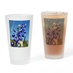 24x24 bluebonnet Drinking Glass